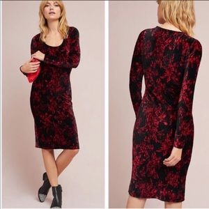 NWT Anthropologie HD in Paris Velvet Deirdre Dress